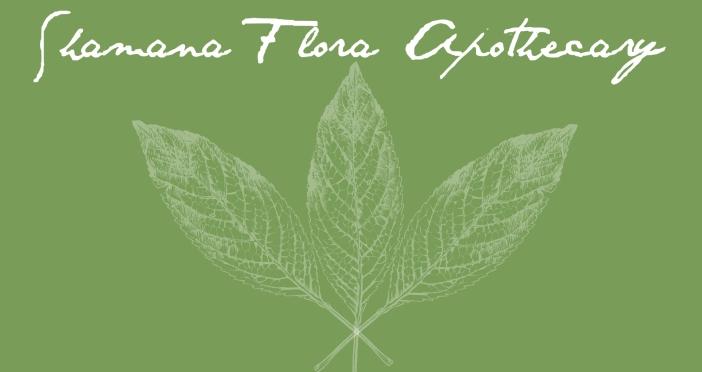 shamana flora label