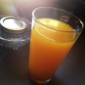 tumeric lemonadeglass